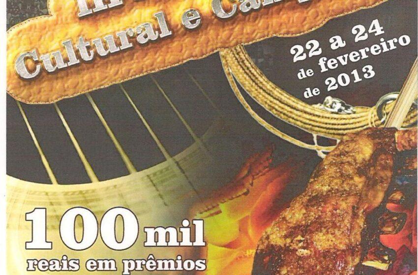 CTG Porteira do Rio Grande ultima preparativos para o Encontro Cultural e Campeiro