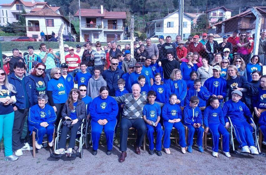 Treinador da Seleção Brasileira esteve na Serra