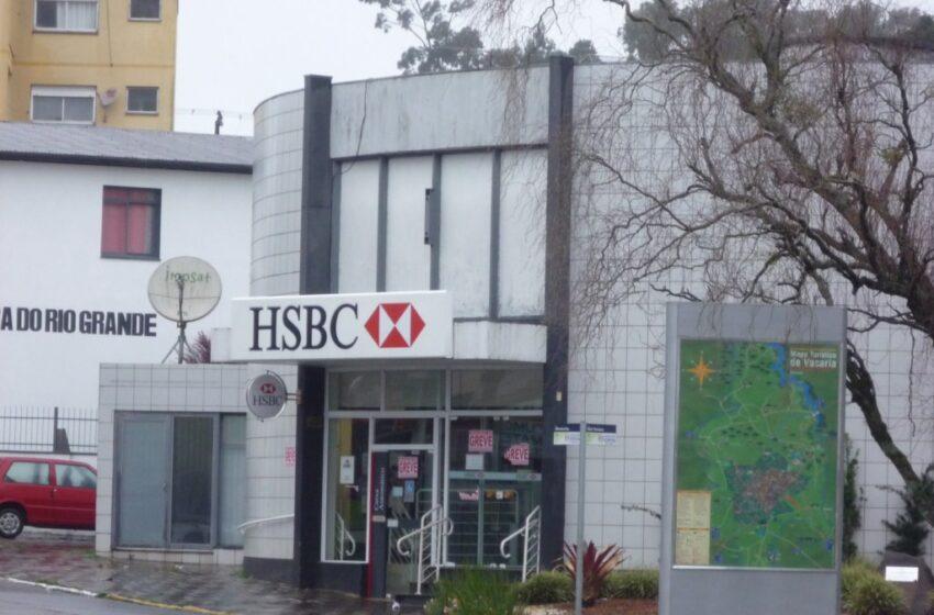Continua a greve dos bancários em Vacaria