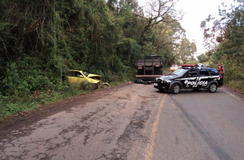 Jovem morre em acidente de trânsito em Jaquirana
