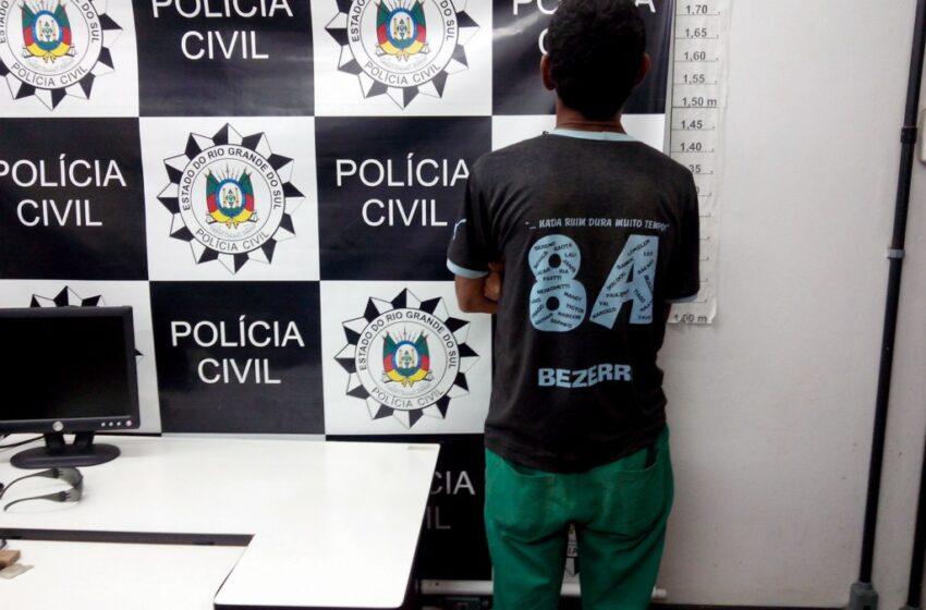 POLÍCIA CIVIL PRENDE FORAGIDO