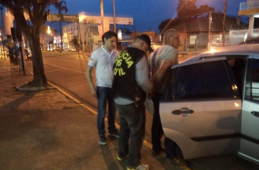 Delegacia de Proteção à Criança e ao Adolescente de Vacaria prende homem que estuprou os próprios filhos