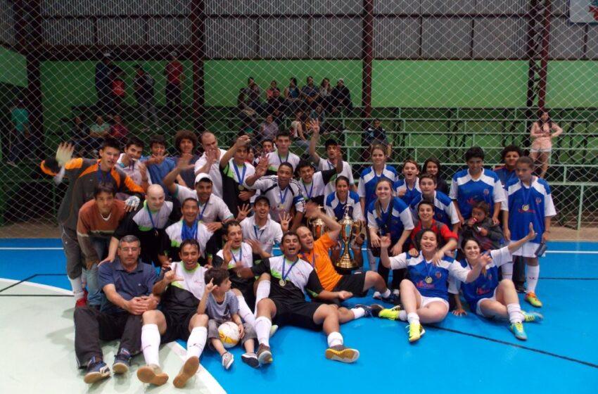 Equipe de Vacaria é Campeã da Taça Amucser