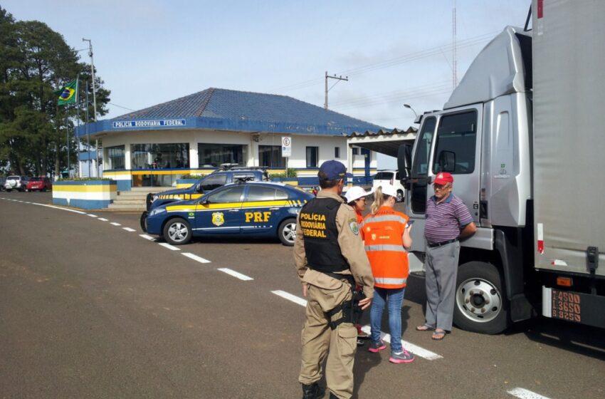 PRF e EPL realizam pesquisa sobre origem e destino do transporte rodoviário e contagem volumétrica de veículos nas rodovias brasileiras