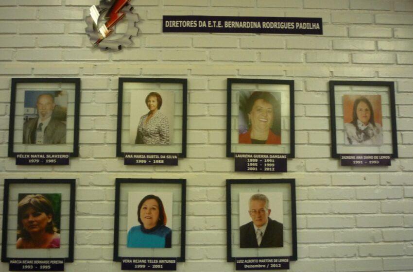 Escola Bernardina inaugura Galeria de Ex-Diretores