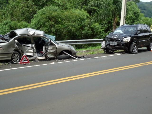 Motorista de São Paulo morre em colisão na BR-116