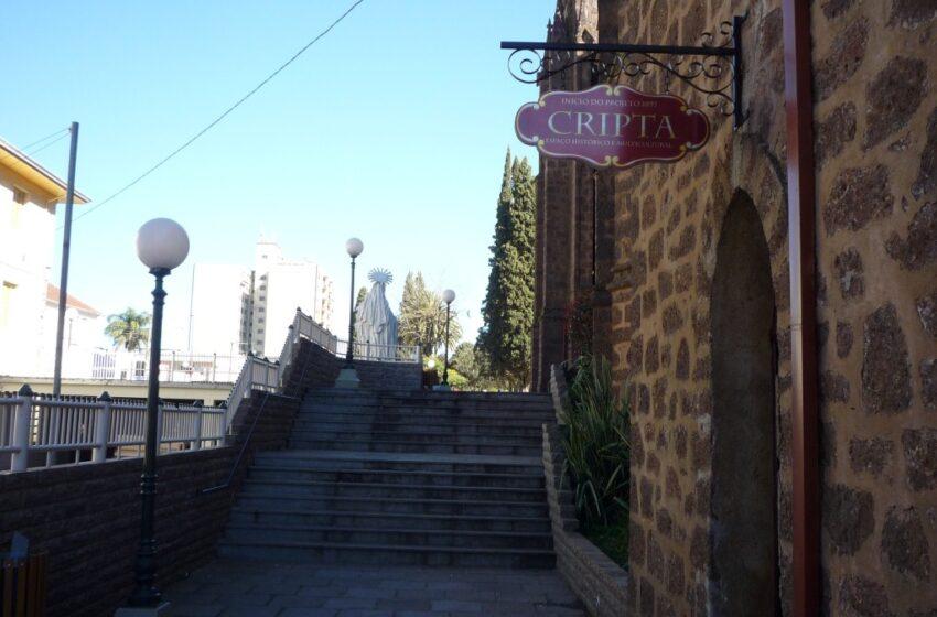Prossegue a programação de Natal de Vacaria na Praça, na Catedral e na Cripta Multicultural