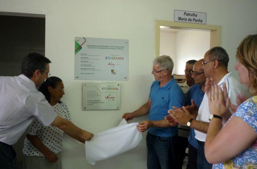 Casa da Cidadania – Território de Paz – Luiz Gonçalves da Silva