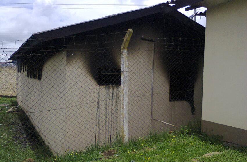 Após incêndio em albergue detentos recebem prisão domiciliar