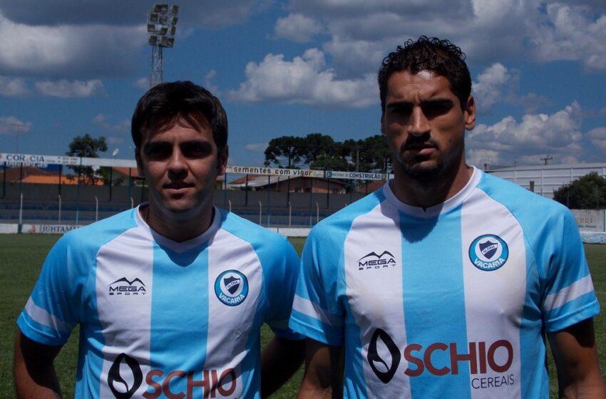 Luiz Carlos e Anderson Seffrin já vestem a camisa do Glória