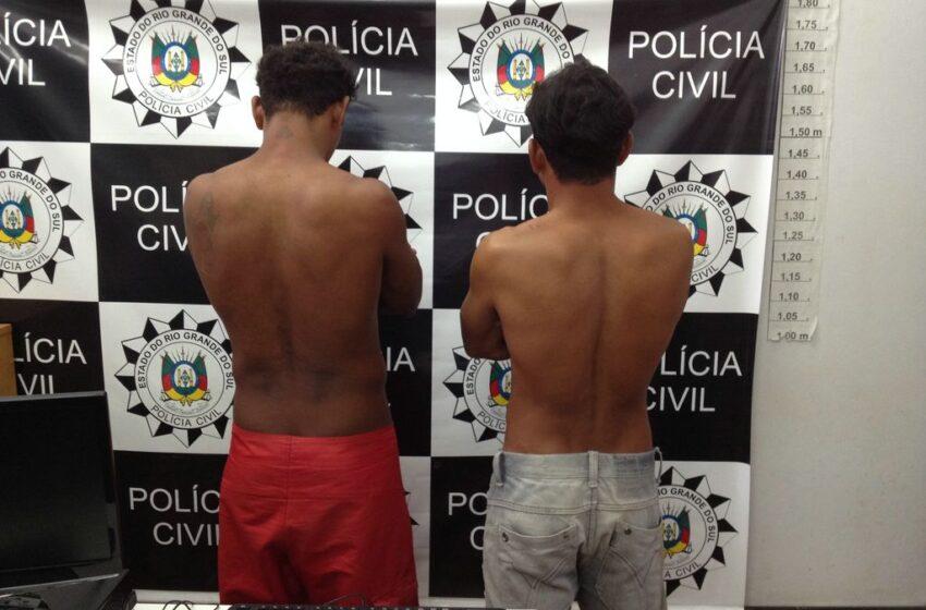 Brigada Militar prende dois estupradores