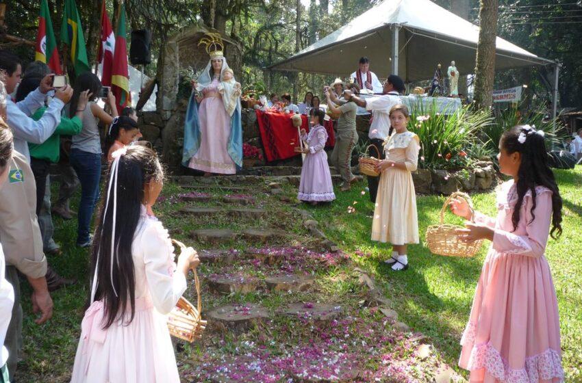 Momento de muita emoção na celebração da Missa Crioula