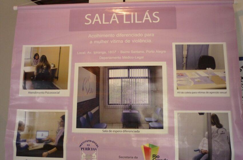 IGP inaugura Sala Lilás em Vacaria