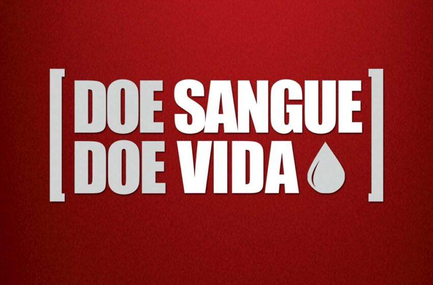 CAMPANHA DE DOAÇÃO DE SANGUE SERÁ DIA 25 EM VACARIA