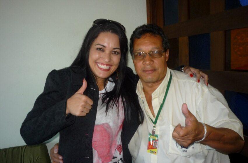 Milene Pavorô do Programa do Ratinho participa do Programa Sábado Maior