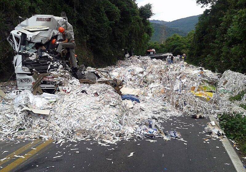 Mais um caminhoneiro morre na RS – 122 em Flores da Cunha