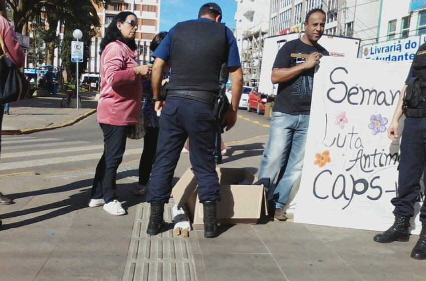 Inicia Semana Nacional da Luta Antimanicomial promovida pelo CAPS Superação