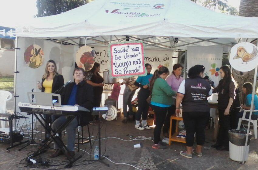 Prossegue atividades relacionadas a Semana Nacional da Luta Antimanicomial promovida pelo CAPS Superação