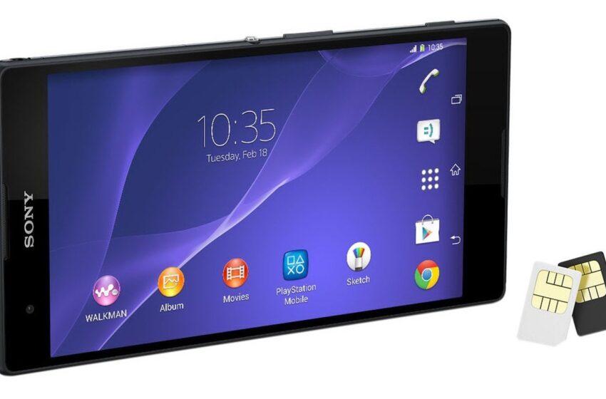 Sony lança Xperia T2 no Brasil com dois chips por R$ 1.299
