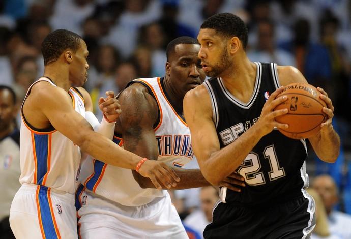 Spurs bate Thunder na prorrogação e faz nova decisão contra o Heat