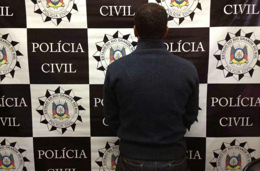 Preso homem por crime de extorsão em Vacaria