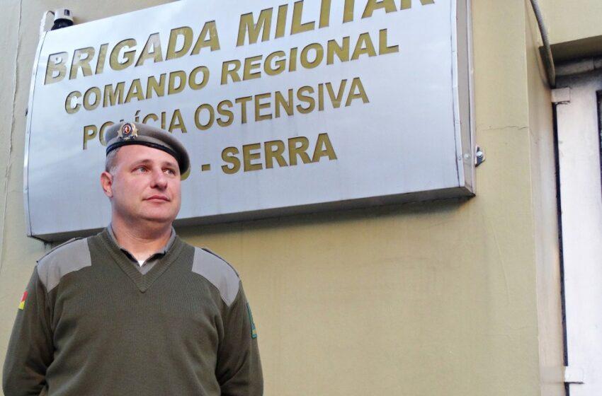 Recursos Humanos da Brigada Militar tem novo chefe na Serra