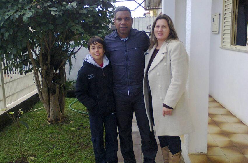 Ex-lateral do Glória e treinador da Chapecoense visita Vacaria