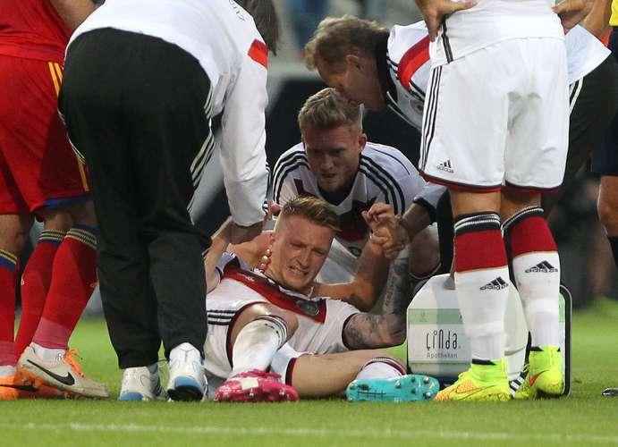 Federação alemã confirma ruptura de ligamentos de Marco Reus