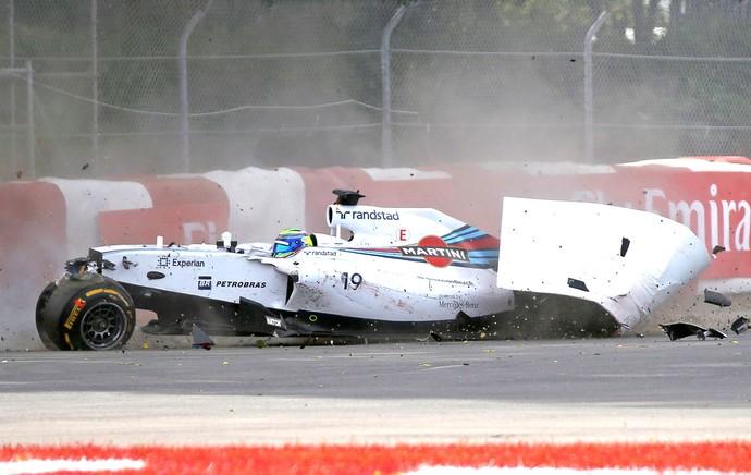 """Massa bate forte no fim, e Ricciardo derruba """"Império de Prata"""" no Canadá"""