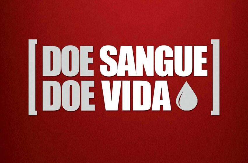 Hospital realiza campanha de doação de sangue nesta quarta-feira