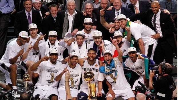 Spurs atropelam Heat e conquistam pela quinta vez o título da NBA