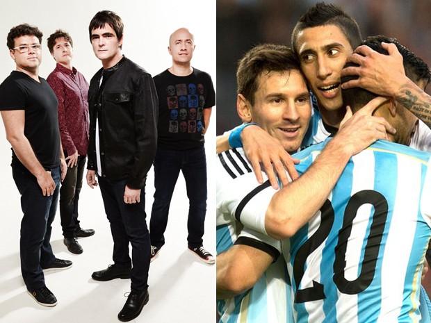 Skank cita Messi em música, mas aposta no Brasil: 'Grupo é simpático'