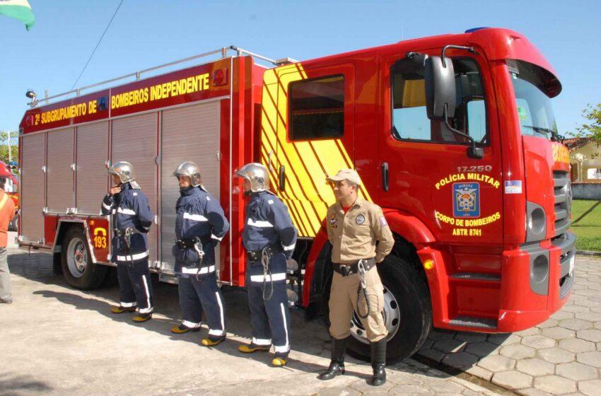 Assembleia aprova separação entre bombeiros e BM