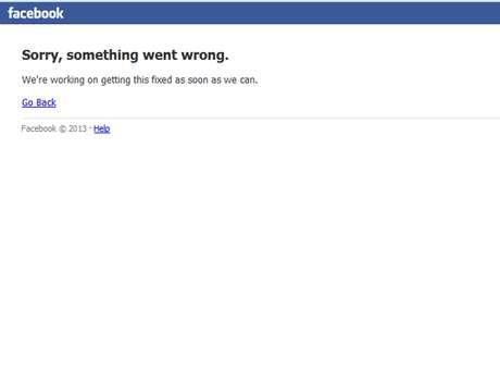 Facebook apresenta instabilidade no acesso de seus usuários