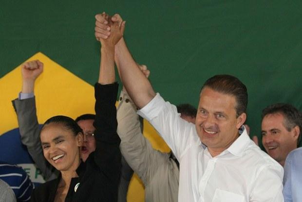 Votar em Dilma é deixar tudo como está, diz Marina Silva