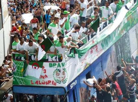 Argélia decide doar premiação da Copa à população de Gaza