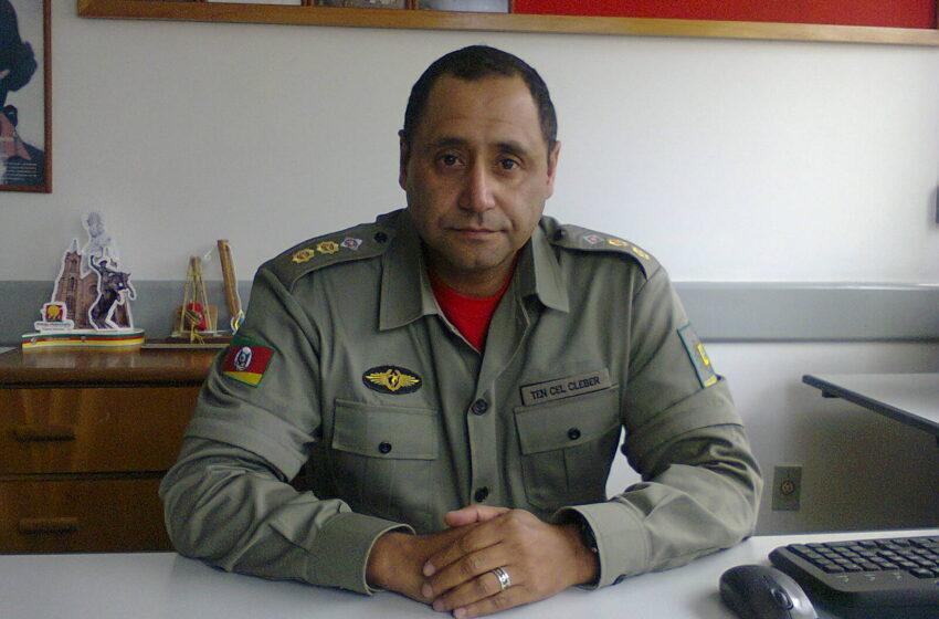 Comandante Regional dos bombeiros visita Vacaria