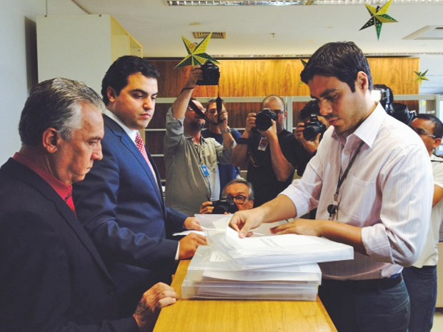 PT registra candidatura de Dilma e estima campanha em R$ 298 milhões