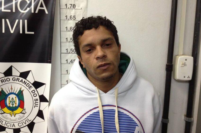 Está preso autor de roubo a farmácia em Vacaria