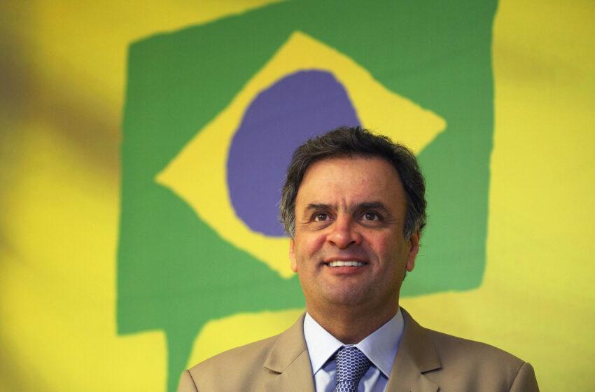 Aécio critica governo: Brasil não precisa de 'Futebras'