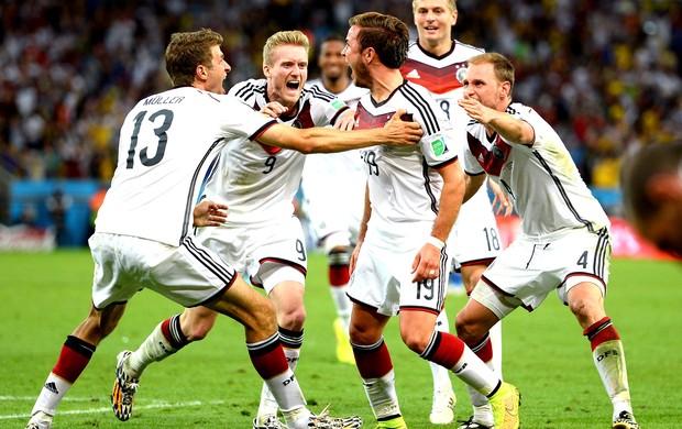 Para a história! Alemanha é tetra no Maracanã com gol na prorrogação