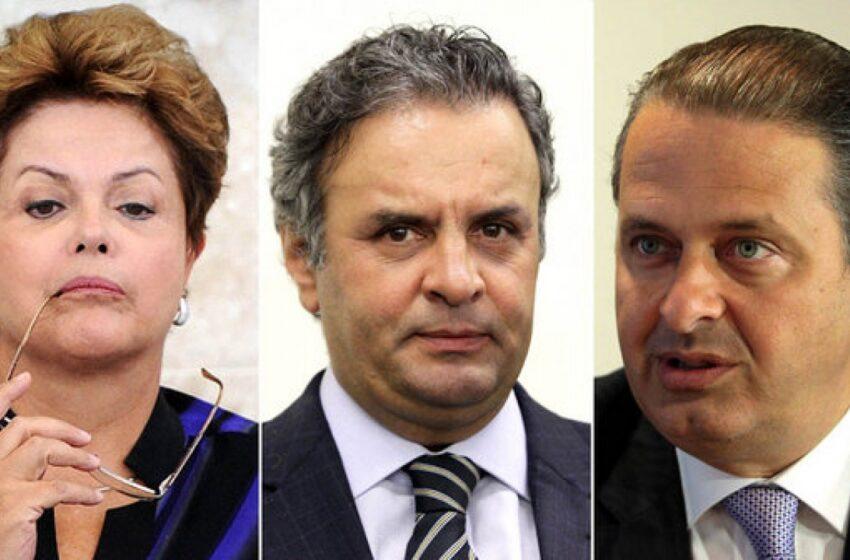 Dilma tem 36%, Aécio, 20%, e Campos, 8%, diz pesquisa Datafolha