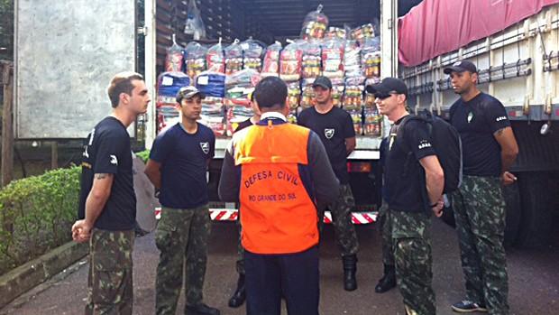 RS recebe doação da Alemanha em produtos para atingidos por cheia