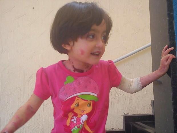 No RS, família busca R$ 3,5 milhões para tratar doença rara de menina