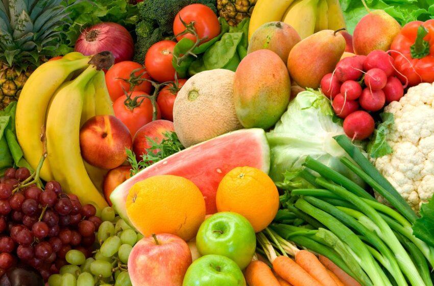 Comer frutas e vegetais não faz emagrecer, diz estudo