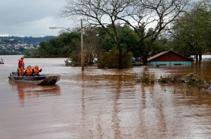 RS registra os cinco maiores volumes de chuva em julho no Brasil