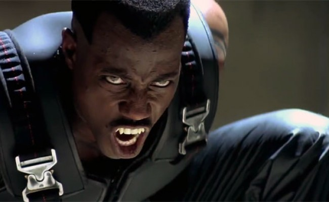 Wesley Snipes quer 'Blade 4′