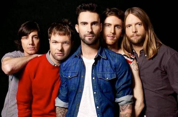 Maroon 5 divulga nova música