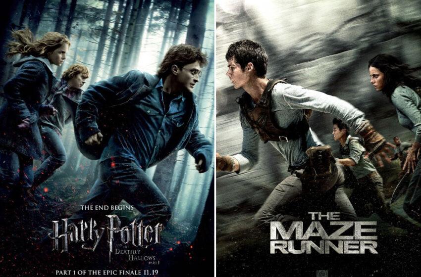 Fãs acusam filme de plagiar cartaz de 'Harry Potter'