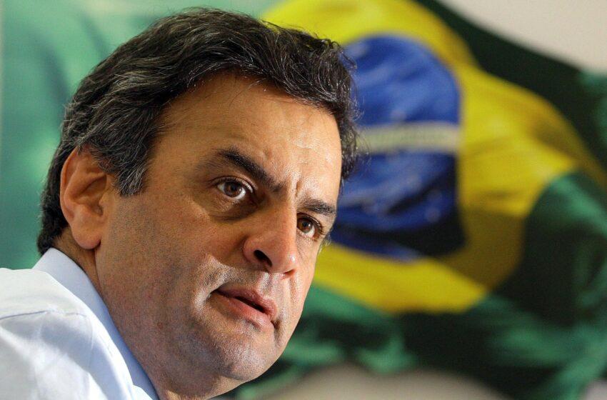 Aécio rebate Dilma e diz que pessimismo é contra governo